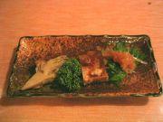 前菜(きのこの酢の物・煮こごり・梅くらげ)