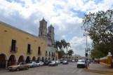 Iglesia de San Gervasio o San Servacio Vista desde el balcón del Palacio Municipal Valladolid, Yucatán