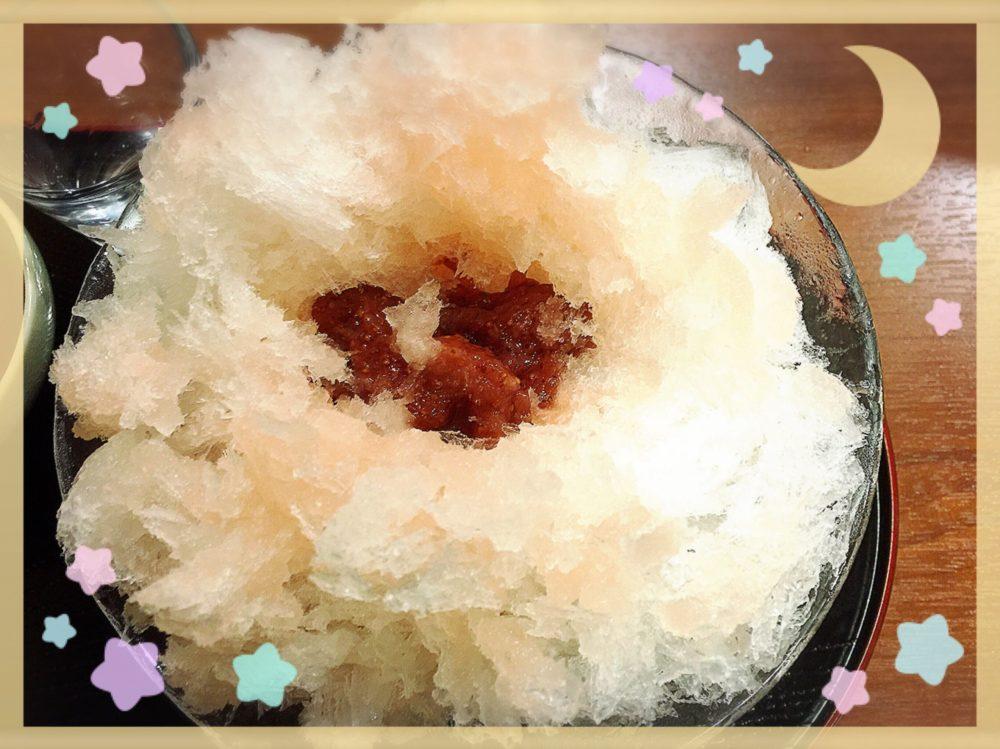 穀雨いちごかき氷2