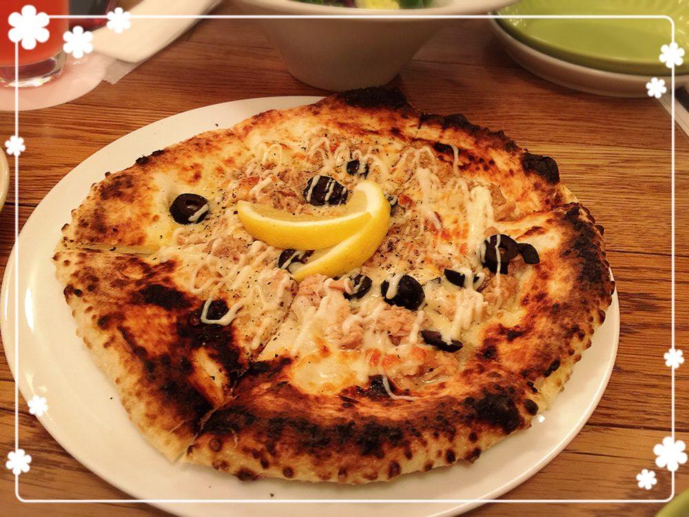 奈良町でピッツァ オールデイダイニングシェフのまかないピザ