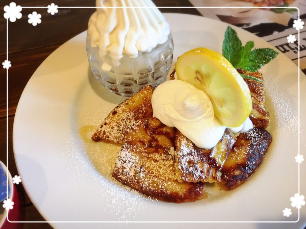 ならまちでディナー カフェMARUパンケーキ