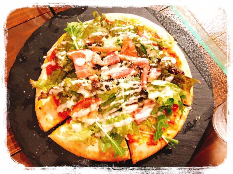 キキノモリ野菜のピザ