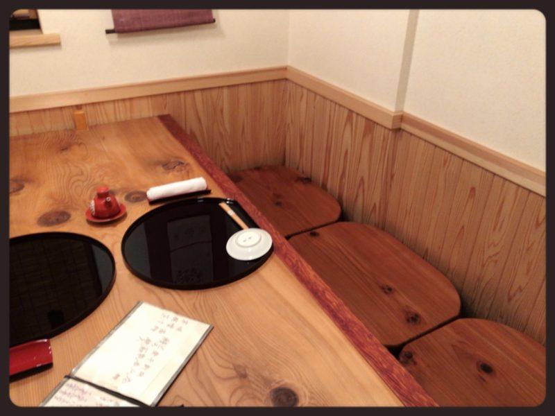 鮨處Wasabi 個室内観