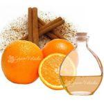Ambientadores con la cáscara de naranja