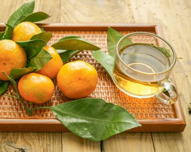 Infusión de hoja de naranjo para el insomnio - Naranjas Luna