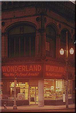 Wonderland Arcade 1200 Grand Avenue, Kansas City, MO in 1968