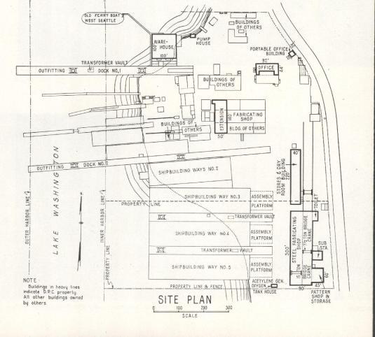 Washington Shipyard Site Plan