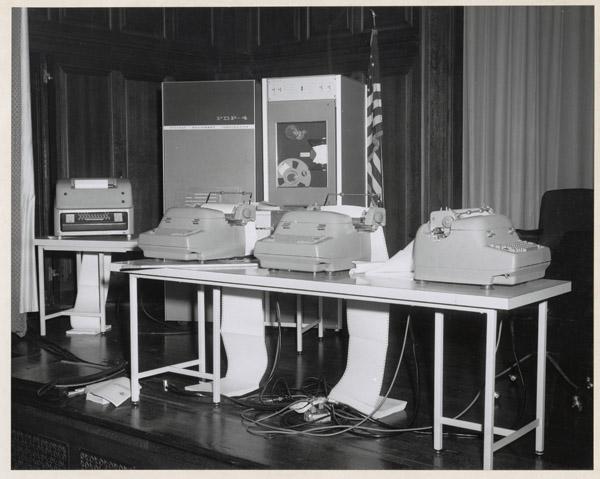 Digital Equipment Machines, 1964