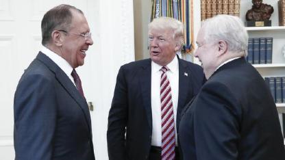 Lavrov, Trump, Kislyak