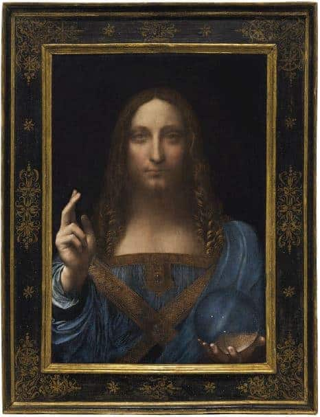 Could the Leonardo da Vinci masterpiece, Salvator Mundi, hold the key to the Trump-Russia investigation.