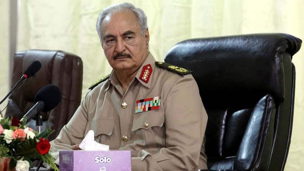 Libyan Warlord Khalifa Haftar is backed by Russia. Trump bucked U.S. policy by backing Haftar who allowed smuggled Libyan oil to reach the global market.