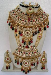 Beautiful Wedding Bridal Jewellery Set - Narbh India ...