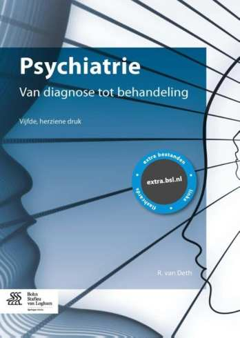 foto cover boek psychiatrie van diagnose tot behandeling