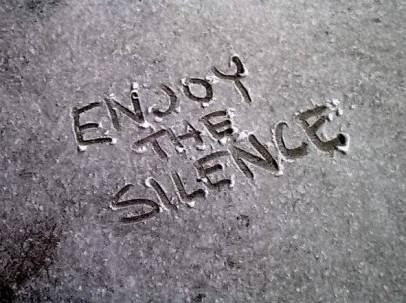 online cursus meditatie Enjoy the silence
