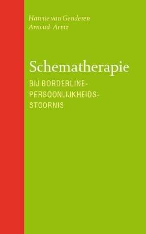 foto van cover boek Schematherapie bij borderline-persoonlijkheidsstoornis