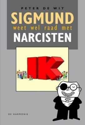 foto van cover boek Sigmund weet wel raad met narcisten en wat ook zo bijzonder aan mij is...