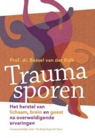 vroegkinderlijk trauma, trauma in de eerste levensjaren, kindertraumafoto cover boek Traumasporen het herstel van lichaam, brein en geest na overweldigende ervaringen