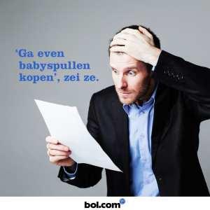 bol.com ga even babyspullen kopen zei ze
