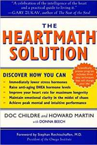 cover book the heart math solution