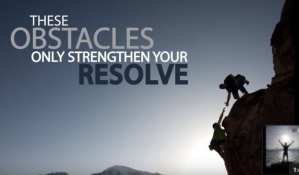 "foto met tekst"" These obstacles only strengthen your resolve"" voor narcisme.blog"