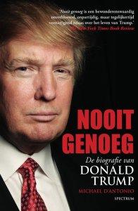 cover boek Nooit genoeg de biografie van Donald Trump
