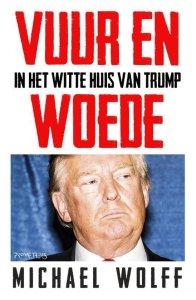 cover boek Vuur en woede in het witte huis van Trump