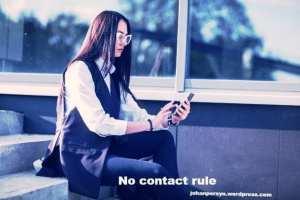 geen contact regel