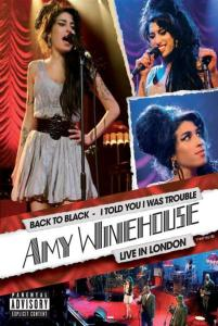 I told you I was in trouble DVD cover foto Amy Winehouse