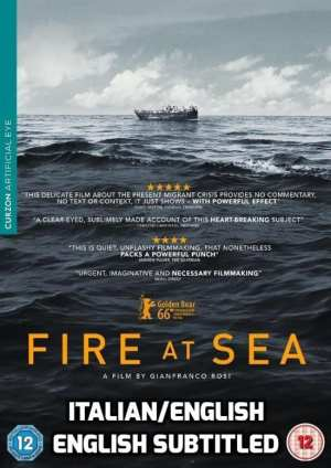 DVD movie Fire at sea