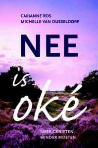 cover boek nee is ok, meer genieten, minder moeten