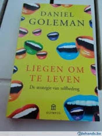 cover boek Liegen Om Te Leven de strategie van zelfbedrog