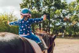 girl riding black horse, narcissistic abuse recovery program