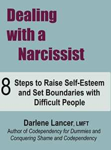 foto cover boek Dealing with a narcissist