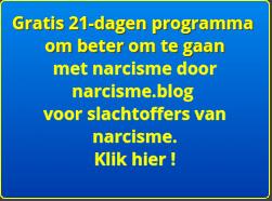 gratis 21-dagen programma om beter om te gaan met narcisme door narcisme blog voor slachtoffers van narcisme. klik hier