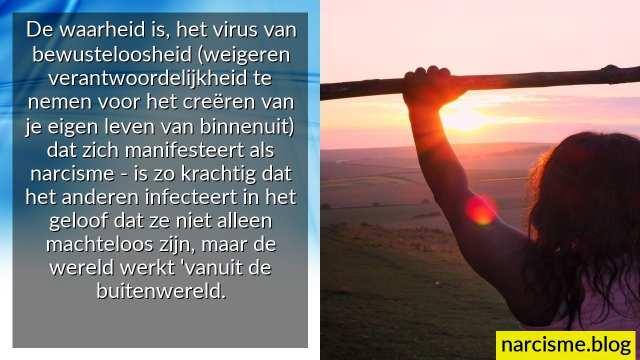 het virus van onbewustzijn
