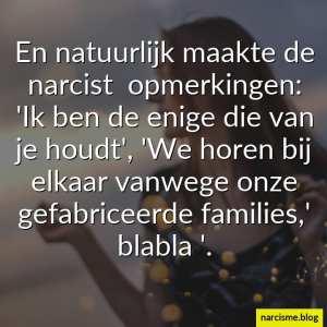 we horen bij elkaar vanwege onze families