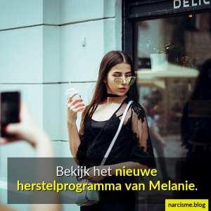 bekijk het nieuwe herstelprogramma van Melanie 8