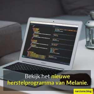 bekijk het nieuwe herstelprogramma van Melanie