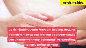 handen raken iemand anders aan voor narcisme.blog, Quanta Freedom healing proces