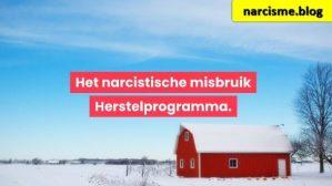 huis in de sneeuw voor narcisme.blog