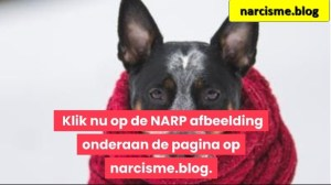 hond in doekje voor narcisme.blog