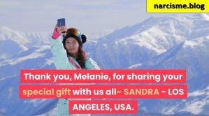 selfie in de bergen voor narcisme.blog