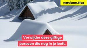 huisjes met sneeuw voor narcisme.blog