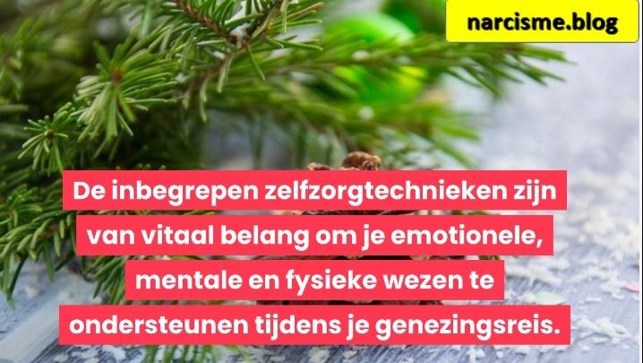 De inbegrepen zelfzorgtechnieken zijn van vitaal belang om je emotionele, mentale en fysieke wezen te ondersteunen tijdens je genezingsreis voor narcisme.blog