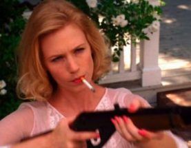 betty draper shooting pigeons--narcissist mothers on screen