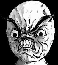 rage face--narcissistic rage
