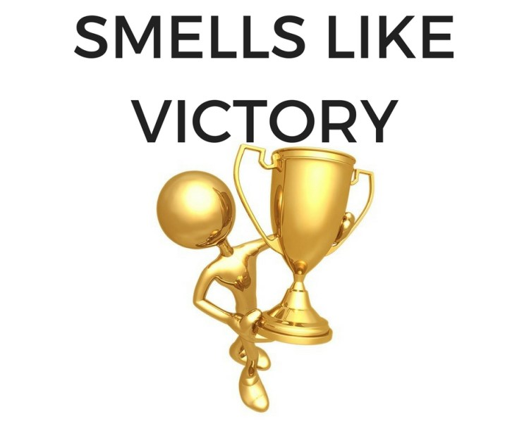 SMELLS LIKEVICTORY