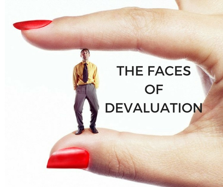 THE FACESOFDEVALUATION