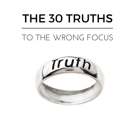 THE 30 TRUTHS