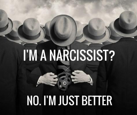I'M A NARCISSIST?